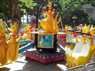 kangaroo Jump kids carnival rides