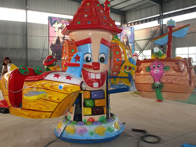 kids roating Abo Qi coin operated ride